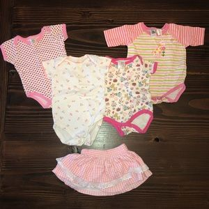 3-6 Months Baby Girls Pink Bundle! 🎀 👶🏻
